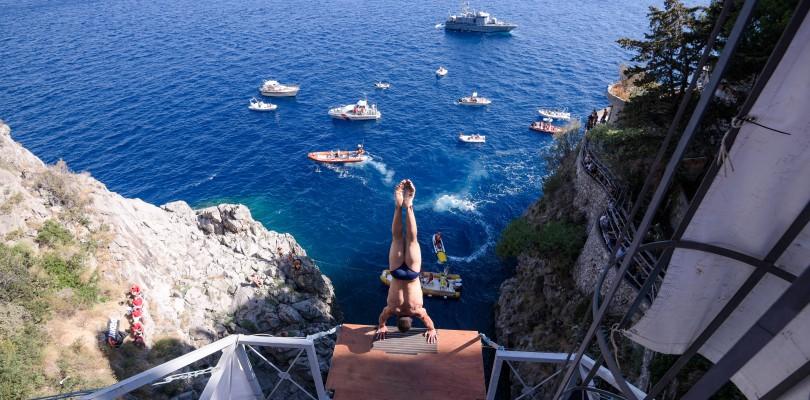 La storia dell'high diving
